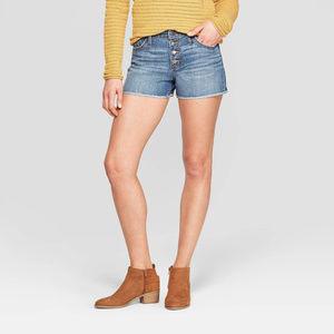 High-Rise Jean Shorts - Universal Thread